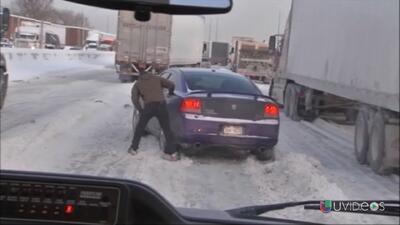 Estragos por el vórtice polar en Estados Unidos