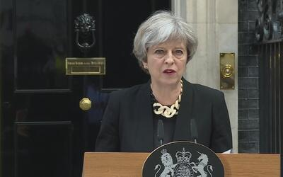 "Theresa May: ""Creemos que estamos experimentando una nueva tendencia de..."