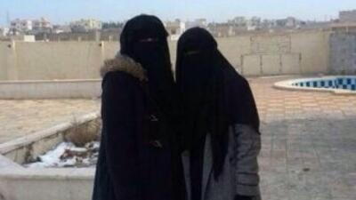 Estas novias de la yihad son parte de la campaña mediática del Estado Is...