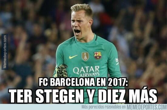 En fotos: el Barcelona le pasó por encima al Sporting en La Liga MMD_984...
