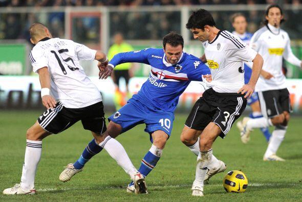 Sampdoria, aún sin alcanzar puestos de competencias europeas, visitó al...