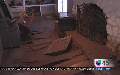Desbordamiento de Río Brazos deja cientos de casas afectadas en Simonton