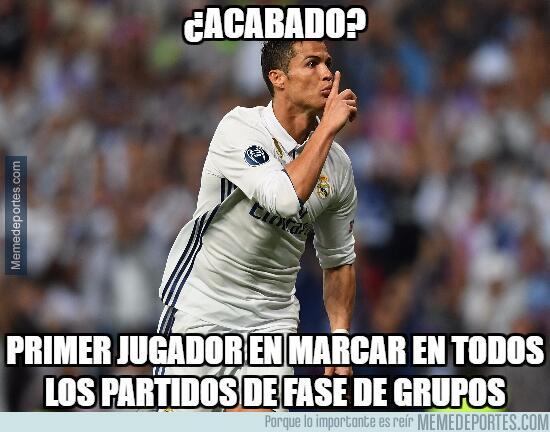 Cristiano Ronaldo marcó gol y los memes se rindieron a sus pies mmd-1010...