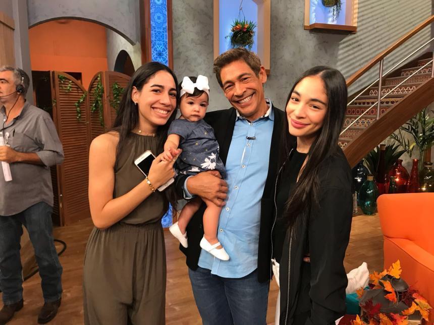 Amaia nieta de Johnny Lozada