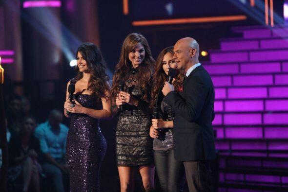 La bella actriz acompañó a Chiquinquirá Delgado y J...