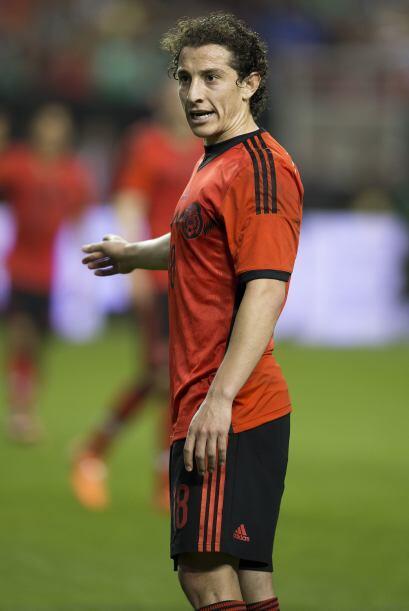 18 Andrés Guardado  Recordó al futbolista que conocemos que imprime pers...