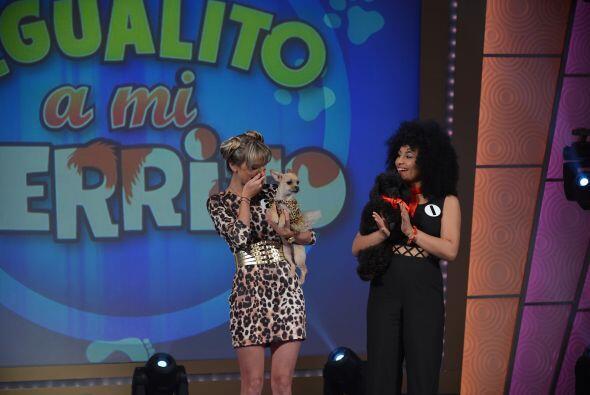 La ganadora no lo podía creer y casi llora de la emoción.