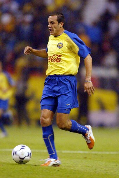 El otro gol fue hecho por el ídolo americanista, Cuauhtémoc Blanco.