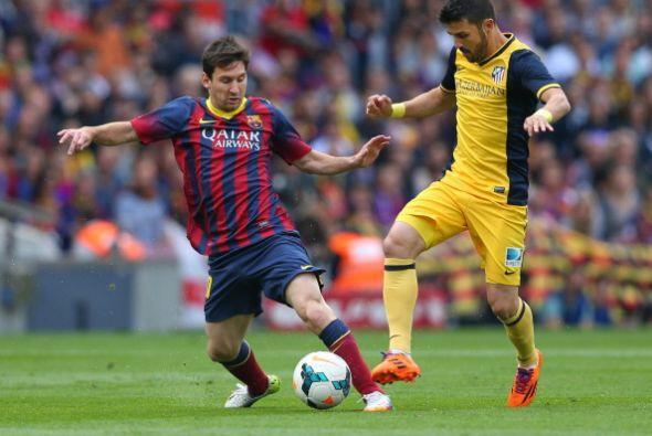 El Barcelona busco el gol del tirunfo nuevamente pero sin muchas ideas....