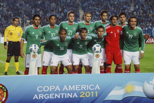 Inmediatamente después de ganar la Copa Oro comenzó la Copa América.