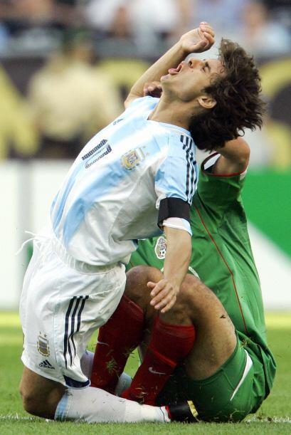 Otro episodio con el 'Tri' sucedió en la Copa Confedereaciones del 2005...