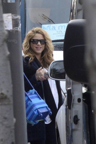Estas son las primeras imágenes de Shakira tras dar a luz a su se...