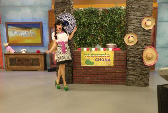 Hoy, en 'La Taquería de Dona Chona e hija', tuvieron un menú de Hollywoo...