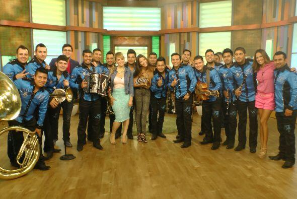 Los invitados especiales fueron los integrantes de La Trakalosa de Monte...