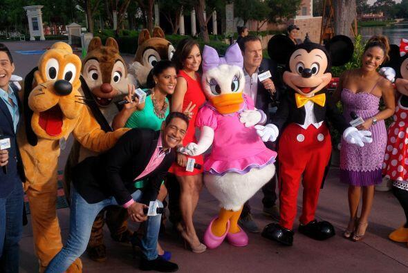Una aventura en la que estarían acompañados de sus amigos de Disney.