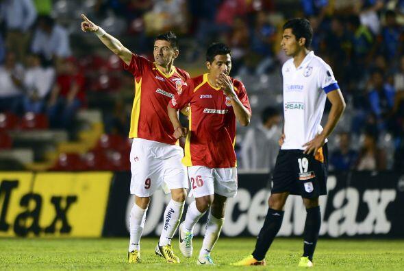 De los nueve partidos como local que tuvo en el Apertura 2013, Querétaro...