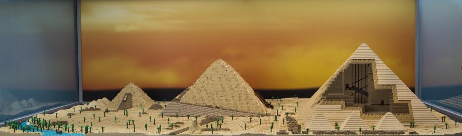 Exhibición Brick by Brick