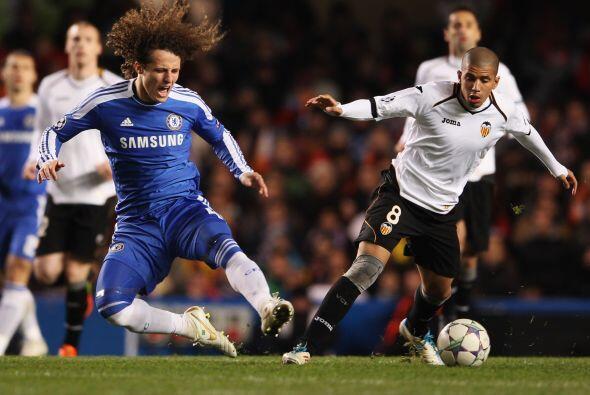 El conjunto de Londres dominó las acciones y no permitió que el Valencia...