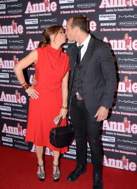 Erik Rubín y Andrea Legarreta