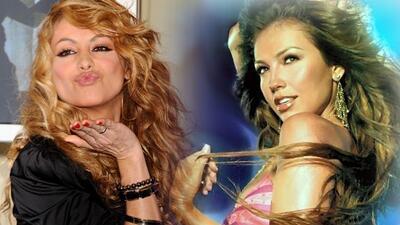 Las dos divas latinas del pop se encontrarán el domingo en un reality sh...
