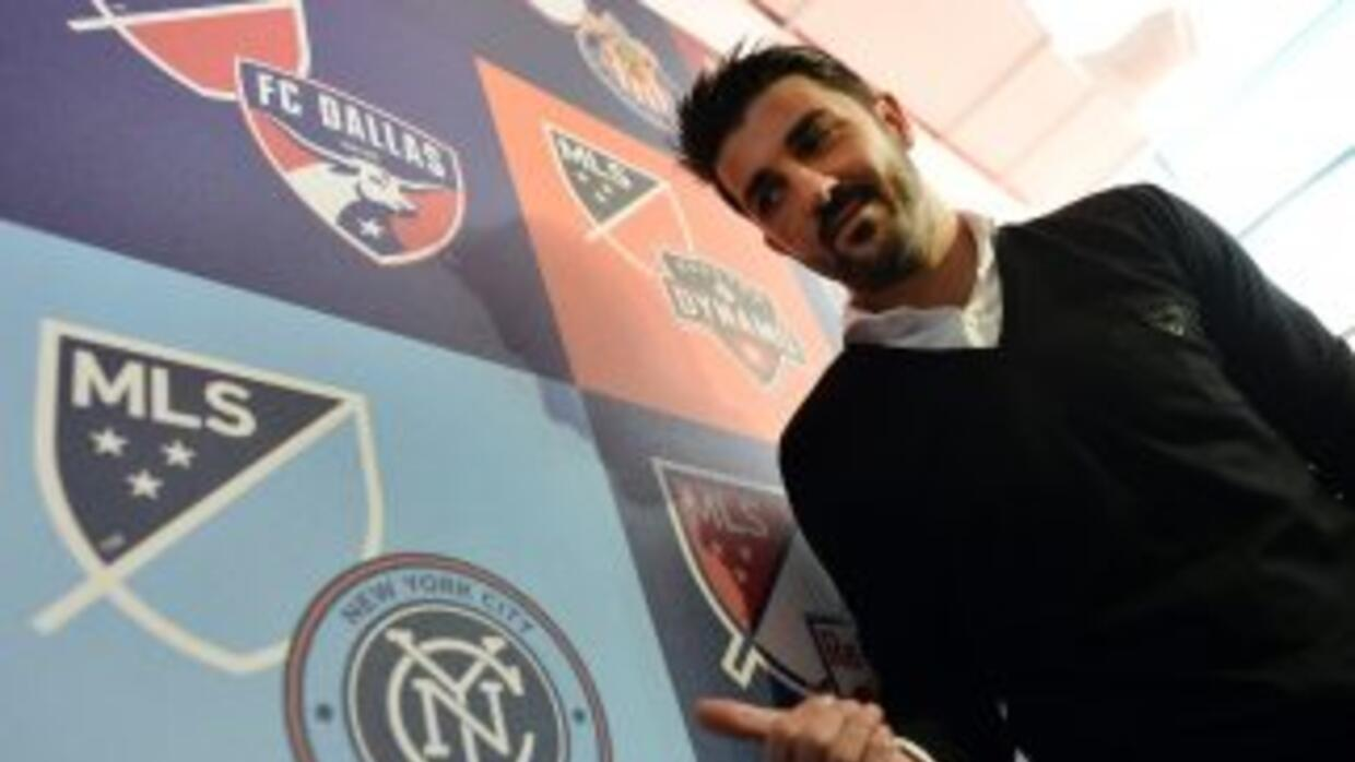 David Villa quiere triunfar en el New York City FC de la MLS.