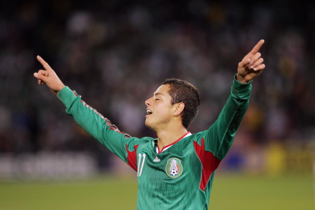 'Chicharito' Hernández el máximo goleador del 'Tri' GettyImages-97040862...