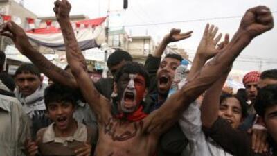 La revuelta de Yemen, inspirada en protestas similares registradas en Tú...