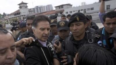 El expresidente de Guatemala, Alfonso Portillo, se declara culpable.