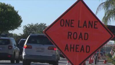 Varias carreteras de California están entre las 20 peores de Estados Unidos