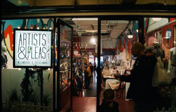 Comienzan a abrir los mercados navideños en Nueva York