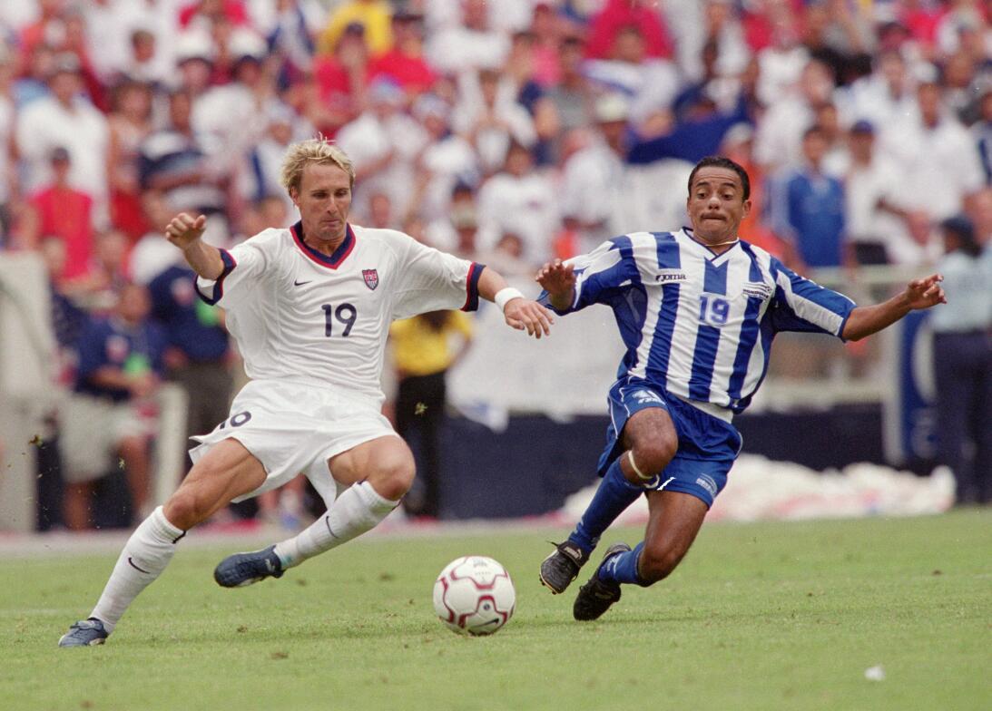 Los 'héroes de Washington', la única selección de Honduras que le ha gan...
