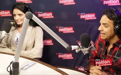 """Eugenio Derbez comparte escena con su hija Aislinn en """"A la Mala""""."""