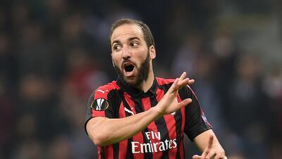 ¡Ni Gattuso lo sabe! El futuro de Higuaín en el Milan es incierto