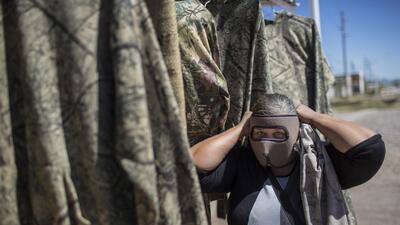 En fotos: La vida cotidiana en la frontera