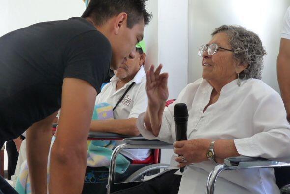 Cristian Mijares preguntó sobre esas necesidades e inmediatamente se apu...