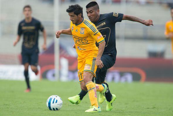 Tigres rectificó su planteamiento, sacando del campo a Damián Álvarez qu...
