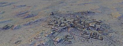 Ciudad Maya en Petén Guatemala.