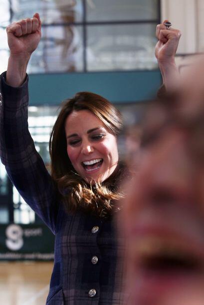 ¡Yes!, esta sí que la cantó y la bailó de gusto.