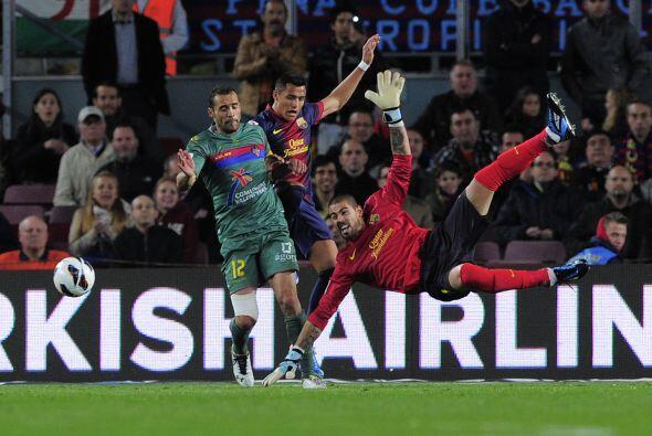 Valdés respondió bien las pocas veces que fue exigido.