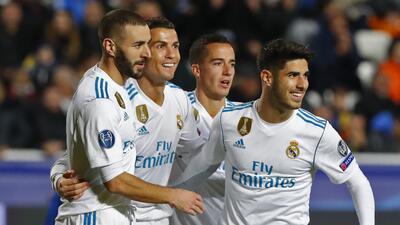 Real Madrid inscribió su nombre en los octavos de final de la Champions...