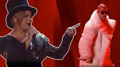 """Bad Bunny siente el 'fuego' de Olga Tañón: lo invita a ser un """"good bunny bro, good bunny"""""""