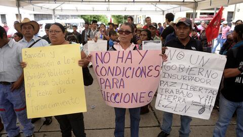 Crisis en Guatemala previo a las elecciones