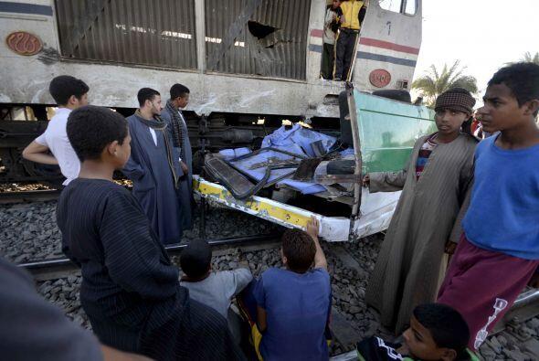 Fuentes del Ministerio egipcio de Transportes explicaron a Mena que el c...