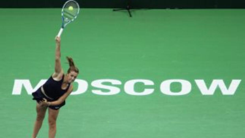 La rusa Pavlyuchenkova espera tener mejor suerte en dobles junto a su co...