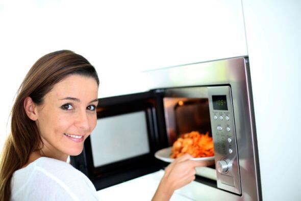 Del refrigerador al microondas, ¡sin escalas! Para reducir los rie...