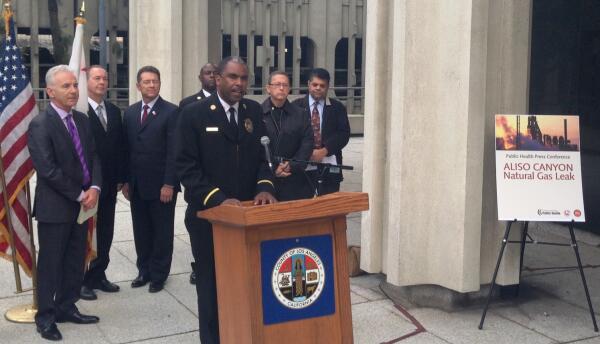 Autoridades de Los Ángeles hablan sobre la fuga de gas en Porter Ranch