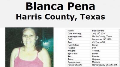 Desaparecida desde el 25 de julio, se cree que su vida está en peligro.