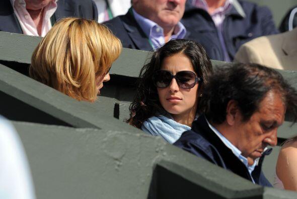 'Xisca', la novia de Rafa Nadal, siempre lo acompaña a los torneos... ¿s...