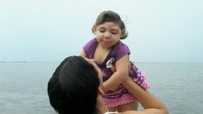 Carolina Silva tuvo a su primera hija, Maria Gabriela, a los 22 años. El...