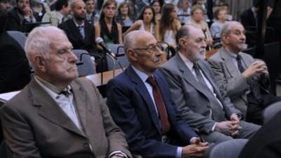 La cantidad de condenados por delitos de lesa humanidad cometidos durant...